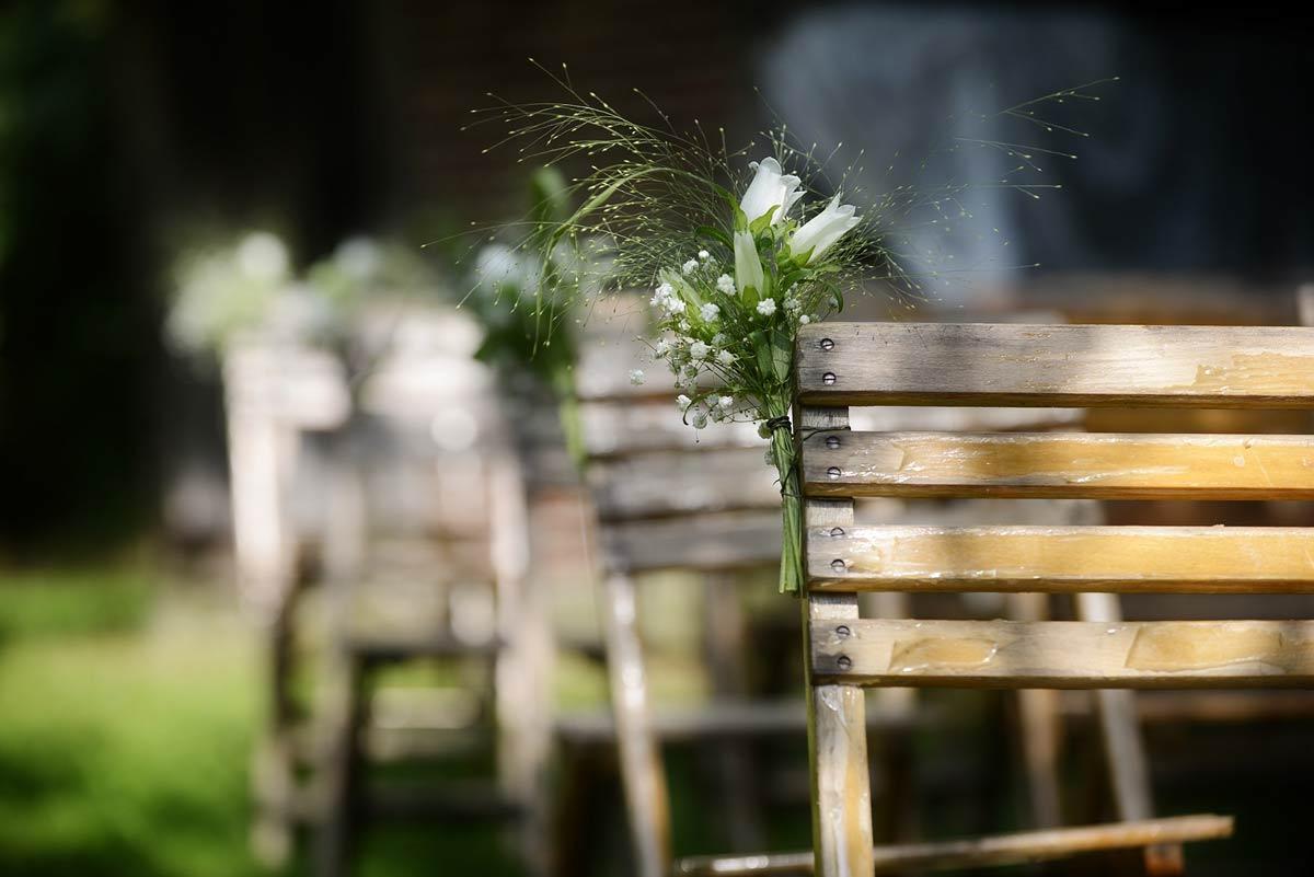 Sommarbröllop utomhus