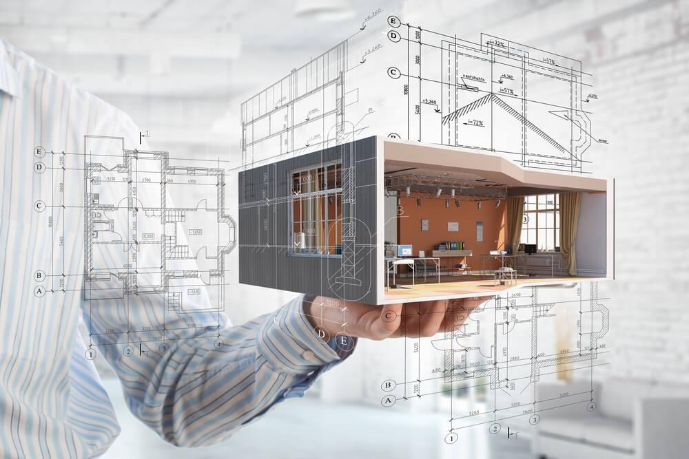 arkitekt-ritat hus